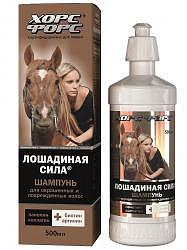 Лошадиная сила шампунь для окрашенных/поврежденных волос 500мл