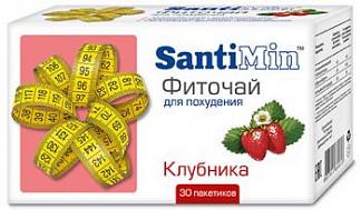 Сантимин чай клубника 30 шт. фильтр-пакет