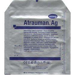 Хартманн атрауман с серебром повязка 10х10см 1 шт.