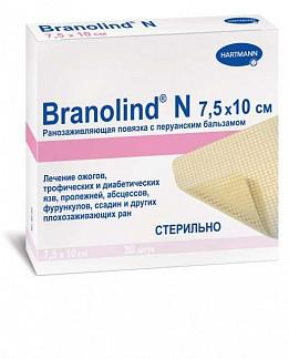 Хартманн бранолинд н повязка мазевая с перуанским бальзамом 7,5х10см 30 шт.