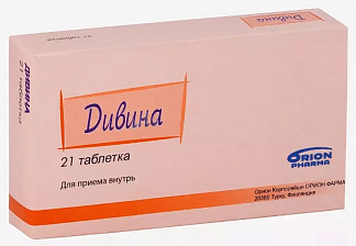 Дивина 21 шт. таблетки