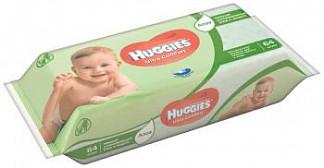 Хаггис ультра комфорт салфетки влажные алоэ 64 шт.