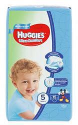 Хаггис ультра комфорт подгузники для мальчиков 5 (12-22кг) 15 шт.