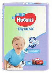 Хаггис трусики-подгузники для мальчиков 3 (7-11кг) 58 шт.