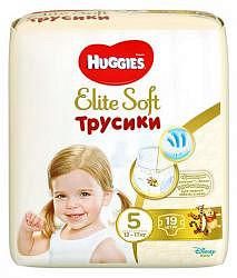 Хаггис элит софт трусики-подгузники 5 (12-17кг) 19 шт.