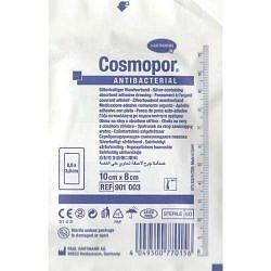 Хартманн космопор повязка антибактериальная с серебром 10х8см 1 шт.