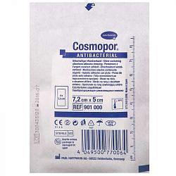 Хартманн космопор повязка антибактериальная с серебром 7,2х5см 1 шт.