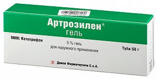 Артрозилен 5% 50г гель для наружного применения