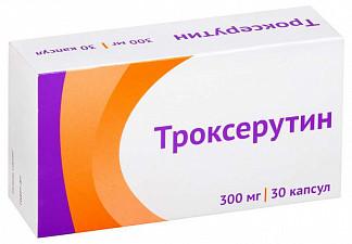 Троксерутин 30 шт. капсулы