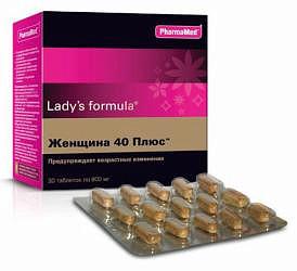 Леди'с формула женщина 40 плюс таблетки 30 шт.