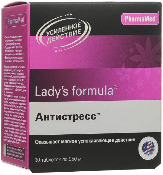 Леди'с формула антистресс таблетки 30 шт., фото №1