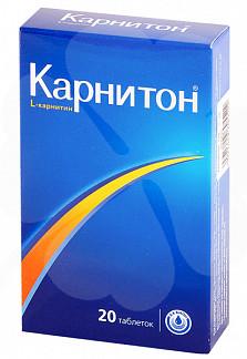 Карнитон таблетки 20 шт. внешторг фарма