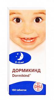 Дормикинд 150 шт. таблетки для рассасывания гомеопатические для детей