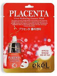Экель маска тканевая с экстрактом плаценты 25мл
