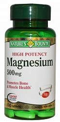 Нэйчес баунти таблетки 500мг магний 100 шт.