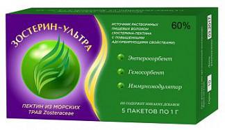 Зостерин ультра 60 пакеты 0,5г 5 шт.
