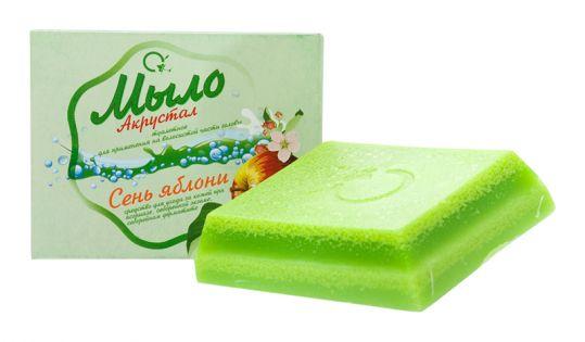 Акрустал мыло для вчг сень яблони 100г, фото №1
