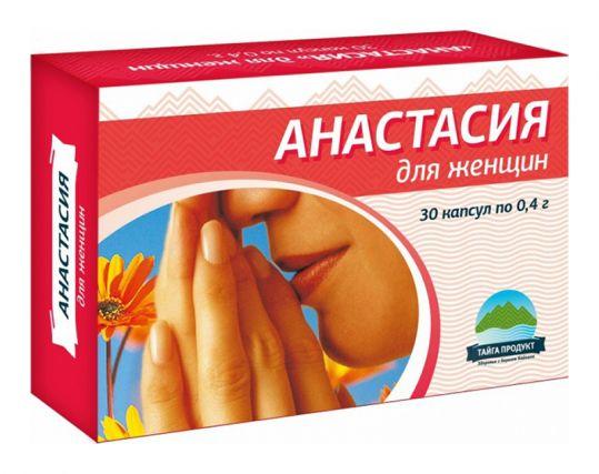 Анастасия капсулы 0,4г для женщин 30 шт., фото №1