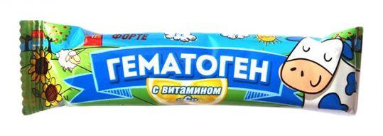 Гематоген форте с витамином с 40г, фото №1