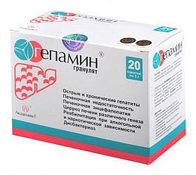 Гепамин гранулы 5г 20 шт.