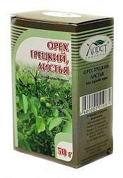 Грецкий орех листья