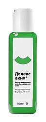Делекс-акне лосьон для лица для жирной/комбинированной кожи 100мл