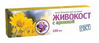 Живокост с арникой крем-бальзам для суставов 100мл