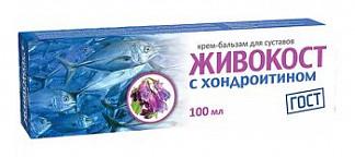 Живокост с хондроитином крем-бальзам для суставов 100мл