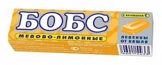 Леденцы бобс медово-лимонные 35г