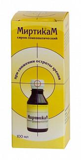 Миртикам сироп 100мл