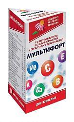 Мультифорт кардио таблетки шипучие 14 шт.