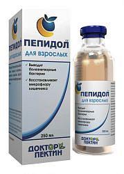 Пепидол пэг раствор 5% 250мл