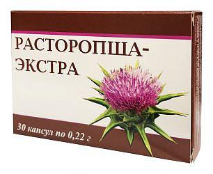 Расторопша-экстра капсулы 30 шт.