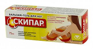 Скипар бальзам-гель д/ног 75мл