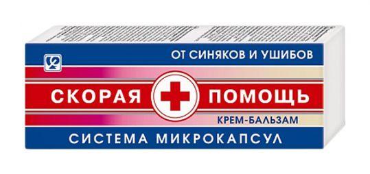 Скорая помощь крем-бальзам от синяков/ушибов 100мл, фото №1
