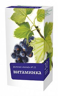Фиточай алтай  n15 витаминка n20 ф/п