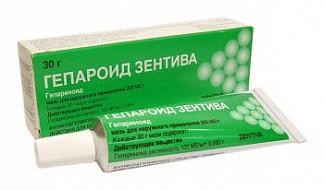 Гепароид 30г мазь для наружного применения