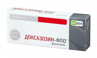 Доксазозин-фпо 4мг 30 шт. таблетки