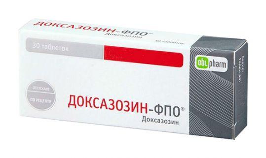 Доксазозин-фпо 4мг 30 шт. таблетки, фото №1