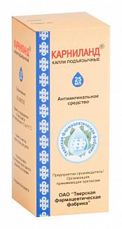 Карниланд 25мл капли подъязычные