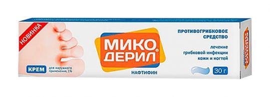 Микодерил 1% 30г крем для наружного применения отисифарм, фото №1