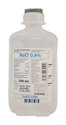 Натрия хлорид браун 0,9% 250мл 10 шт. раствор для инфузий