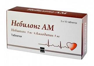 Небилонг ам 30 шт. таблетки