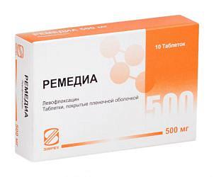 Ремедиа 500мг 10 шт. таблетки покрытые пленочной оболочкой