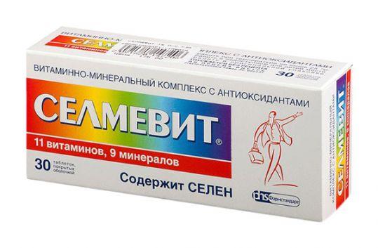 Селмевит 30 шт. таблетки, фото №1