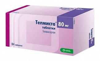 Телмиста 80мг 84 шт. таблетки