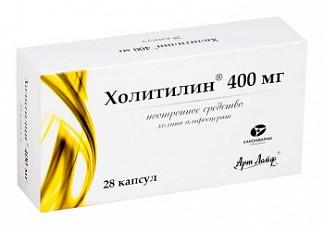 Холитилин 400мг 28 шт. капсулы