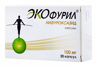 Экофурил 100мг 30 шт. капсулы
