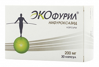 Экофурил 200мг 30 шт. капсулы