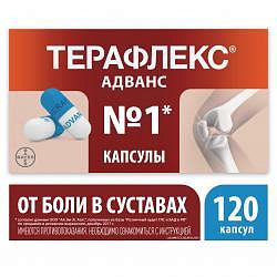 Терафлекс адванс 120 шт. капсулы